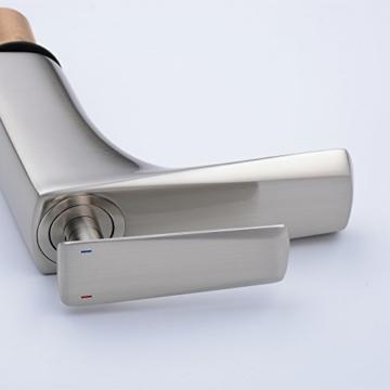 Beelee BL6780N Einhebel-Waschtischmischer, gebürstetes Nickel -