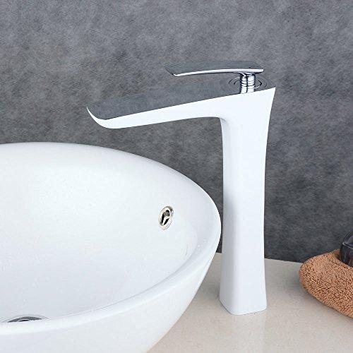 beelee wasserhahn hohe wei bad armatur waschbecken waschbeckenarmatur einhebelmischer. Black Bedroom Furniture Sets. Home Design Ideas