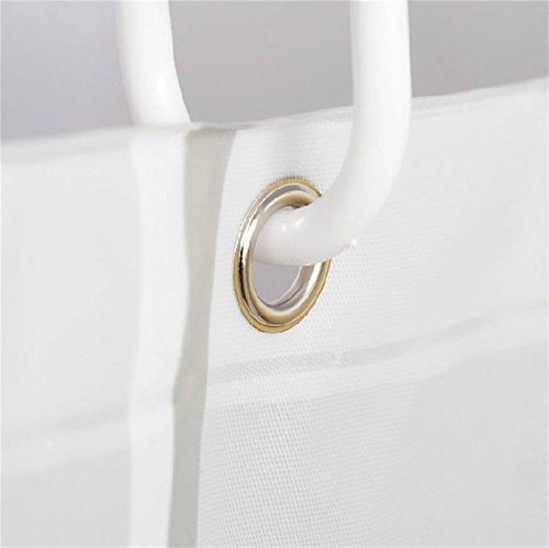 bouti1583 duschvorh nge badewannenvorhang gro e auswahl 120 150 180 200 240 x 200cm inkl ringe. Black Bedroom Furniture Sets. Home Design Ideas