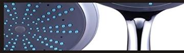 DESIGN XXL DUSCHKOPF | REGENDUSCHE | Das vitalisierende Dusch-Erlebnis in XXL!!! Riesiger Durchmesser ca. 200mm mit insgesamt 140 Wasserdüsen. -