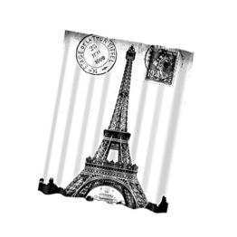 Generic Wasserdicht Polyester Duschvorhang Dusche Vorhang für Badezimmer Dekor mit 12 Haken - Tower, 180x180cm -