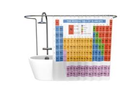 getDigital Periodensystem Duschvorhang -