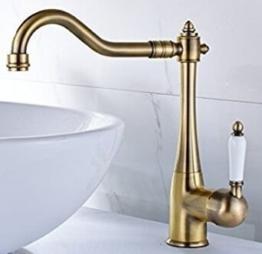Gimili Waschbecken Wasserhahn Bad Mischbatterie Amaturen für Badezimmer -
