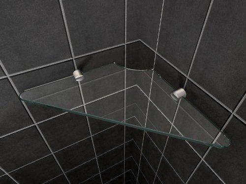 glas wandregal fuer duschkabinen duschtrennwaende der