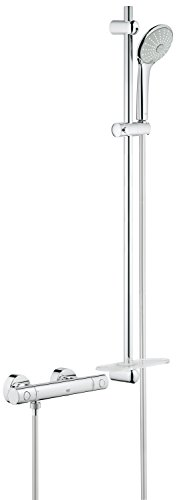 Grohtherm 1000 Cosmopolitan Thermostat-Brausebatterie mit Brausegarnitur, 900 mm 34321001 -