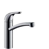 hansgrohe Focus E Einhebel-Küchenmischer,  für offene Warmwasserbereiter, chrom -