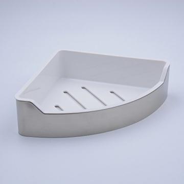 Hiendure Universalkorb aus rostfreiem Edelstahl für Bad und Küche-Duschablage / Duschkorb - mit 2 Jahren Geld-zurück-Garantie -