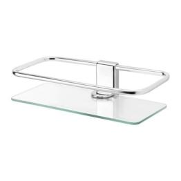 IKEA Duschablage KALKGRUND Chrom Glas -