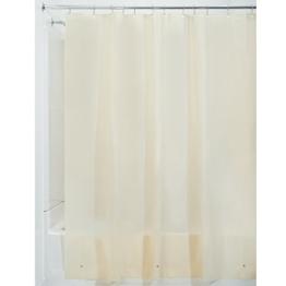 InterDesign 12291EU Schimmelresistentes PEVA-Futter für Duschvorhang, 180 x 200 cm, sandfarben -