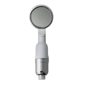 LEF hohen Druck Ionic Handheld Duschkopf Filter mit 3 Schicht Wasser Filtrationssystem - Reinigen, weich und sparen Wasser, perfekt für Baby und schwangere Frauen -