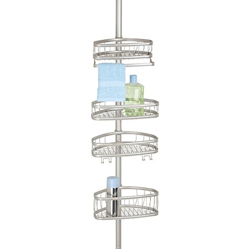 duschregal edelstahl mdesign teleskop duschregal der. Black Bedroom Furniture Sets. Home Design Ideas