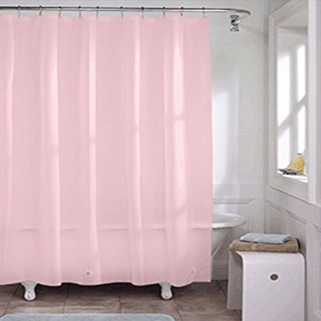 Misslight Wasserfest Duschvorhang bunte Baum Hai Tier Krake Katze Seestern Badezimmer Anti-Schimmel-Effekt Polyester Bad Vorhang wasserdicht mit Haken Digital gedruckt (pink) -