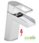 Niederdruck Wasserfall Bad Armatur Waschtischarmatur Einhebelmischer Wasserhahn Badarmaturen armaturen Waschtischarmaturen -