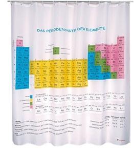Periodensystem der Elemente Duschvorhang -