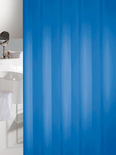 duschvorhang blau 180x200cm sealskin 238501324 der badarmaturen. Black Bedroom Furniture Sets. Home Design Ideas