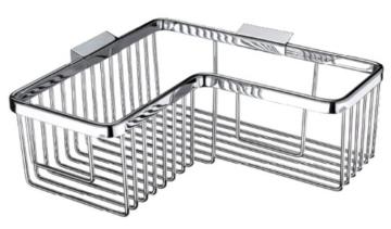 velma td 309 1 wundersch ner gro er eck duschkorb der badarmaturen. Black Bedroom Furniture Sets. Home Design Ideas