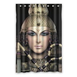 "120 cm x 183 cm (48 ""x72"") Bad Duschvorhang, 3 D Design of cleopatra Mode Duschvorhang Design, Raum Wasserverdunklungsvorhänge. -"