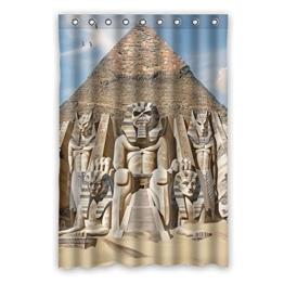 """120 cm x183 cm (48 """"x72"""") Bad Duschvorhang, der Stein auf der Pyramide Wandzeichenmuster Design Schnitzen, Vorhänge Raum Polyester Art und Weise. -"""