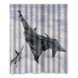 """152 cm x183 cm (60 """"x72"""") Bad Duschvorhang, Höhenlage des Flugzeug-Design des individuellen Charakters vogue Bad Schatten, WC Art und Weise Polyester Vorhänge. -"""
