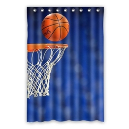 Dalliy Brauch Basketball Sport Wasserdicht Polyester Shower Curtain Duschvorhang 120cm x 183cm -