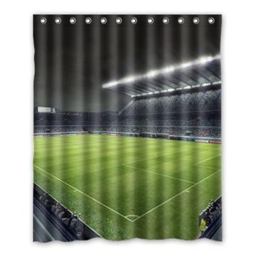 Dalliy Brauch fu?ball - stadion Wasserdicht Polyester Shower Curtain Duschvorhang 152cm x 183cm -