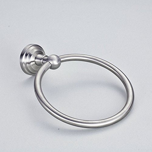 Hiendure handtuchring handtuchhalter wandhandtuchhalter wand ring aus edelstahl geb rstet - Handtuchhalter wand edelstahl ...
