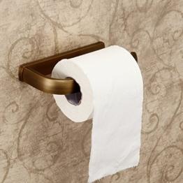 Hiendure ®Hochwertig Wandhalter Toilettenpapierhalt Papierhalter Küchenrollenhalter Toilettenpapierhalter Abdeckung -