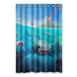 Dalliy Brauch hai Wasserdicht Polyester Shower Curtain Duschvorhang 120cm x 183cm - 1