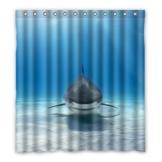 Dalliy Brauch hai Wasserdicht Polyester Shower Curtain Duschvorhang 167cm x 183cm - 1