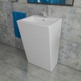 Kerabad Keramik Design Standwaschbecken Säulenwaschbecken Waschtischsäule Waschsäule Standsäule KBE3 - 1