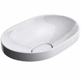 Mai & Mai: Einbauwaschbecken mit Nano-Beschichtung Brüssel5006A aus Keramik,weiß - 1